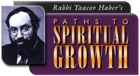 Rabbi Yaacov Haber - Paths to Spiritual Growth